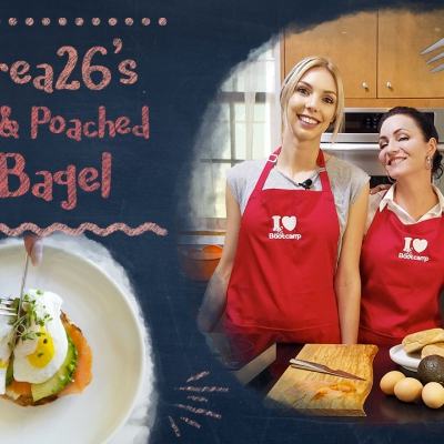 New Recipe Video: Salmon & Poached Egg Bagel