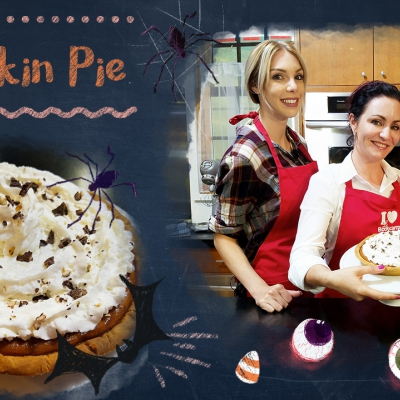 New Recipe Video: Pumpkin Pie