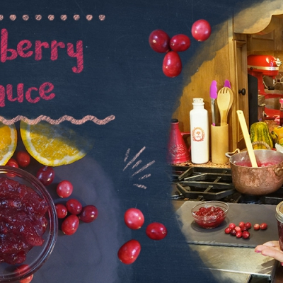 New Recipe Video: Cranberry Sauce