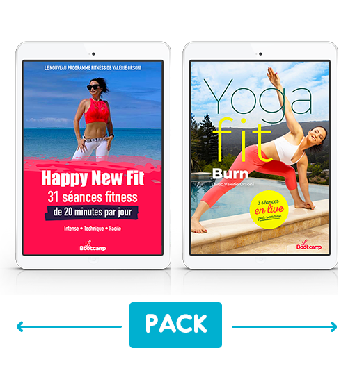 Pack Yoga Fit Burn® + Happy New Fit®